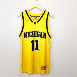 Vintage Michigan Nike Basketball Jersey Wolverines